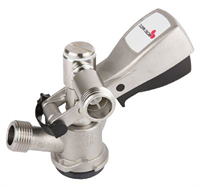 Keg coupler -S-system, SS, short probe, Mdraft