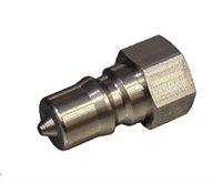 Coupler -Rectus, male, 1/4″ BSP, SS