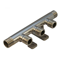 Manifold -3+1 Beer, 1/2″, ss